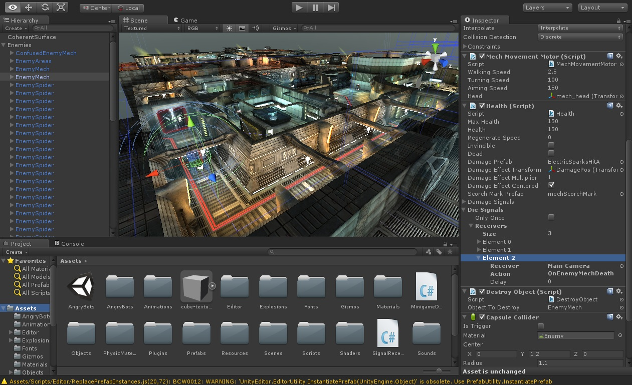 Creating GameObjects programmatically from the Unity3d Inspector